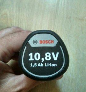 Аккумулятор bosch 10.8v 1.5ah