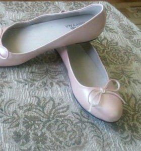 Новые балетки.