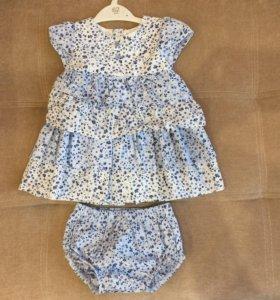 Платье с трусиками (новое)