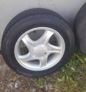 Комплект колес Dunlop