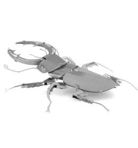 Металлический 3D пазл «Жук-Олень»