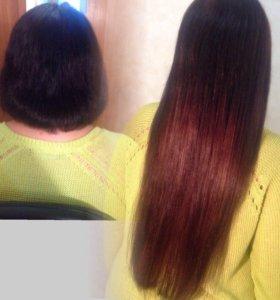 Наращивание волос качественно