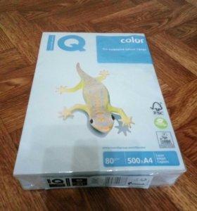 Бумага цветная IQ Color