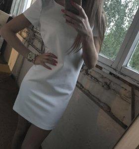 Платье белое Zara