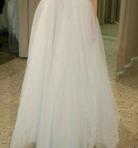 Свадебная фатиновая юбочка