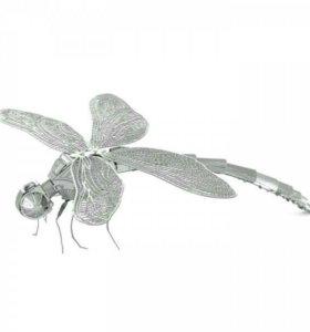 Металлический 3D пазл «стрекоза»