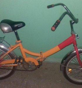 Велосипед детский форвард складной.