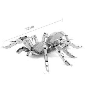 Металлический 3D пазл «Паук»