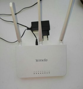 Быстронастраеваемый wi-fi маршрутизатор Tenda