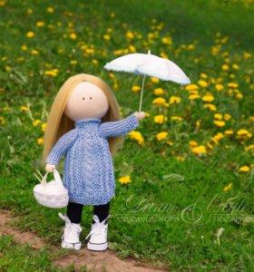 Интерьерная кукла Капелька