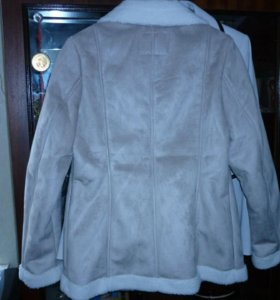 Куртка-дубленка из искусственной овчины