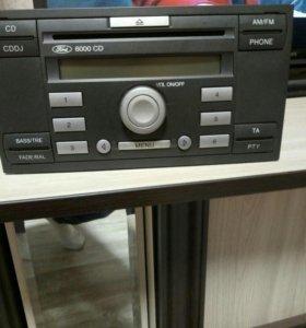 Оригинальная магнитола Ford Focus 2 CD 6000