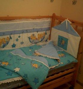 Бортики в кроватку для вашего малыша