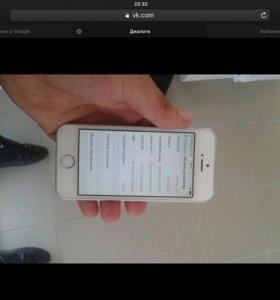 Айфон 5s в хорошем состояние не реф