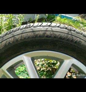 Продам шины Bridgestone, литый диски R16