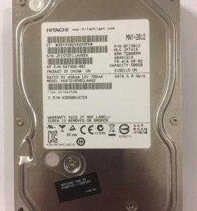 Жесткий диск Hitachi 500Gb б/у