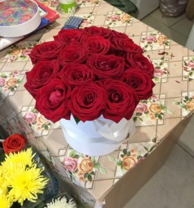 Розы в боке