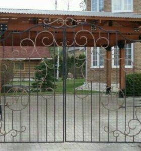 Ворота. Ковка .