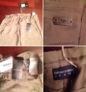 Шелковые брюки armani оригинал новые