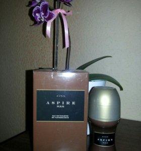 Мужской парфюм и парфюмированный антиперсперант