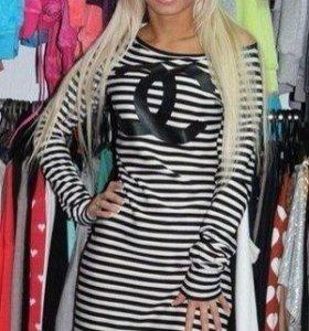 Платье туника Chanel S-M