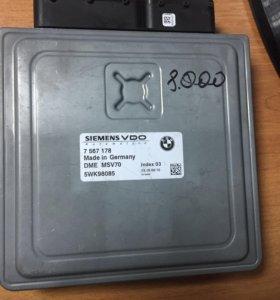 Блок управления двигателем BMW E60/61