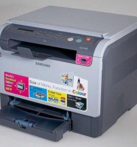 Мфу принтер, копир, сканер Samsung clx 2160