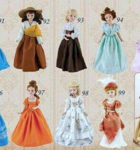 Коллекция кукол Дамы Эпохи