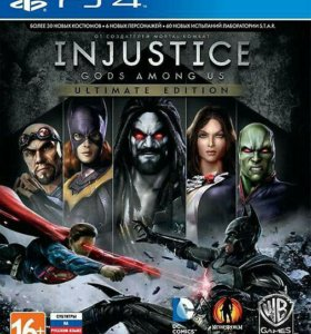 Injustice - Gods Among Us Ultimate Edition [PS4]
