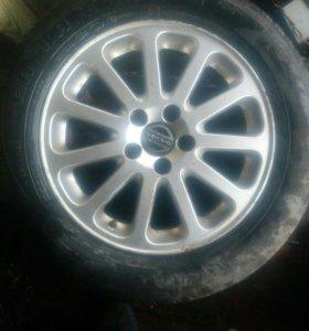 Колёса на Volvo R16