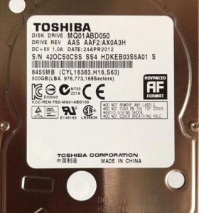 Жесткий диск для ноутбука 500Gb