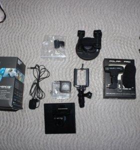 Экшен Камера Gopro hero 3+ с набором аксессуаров