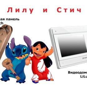 "Комплект видеодомофона ""Лилу и Стич"""