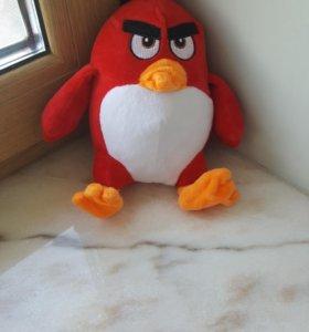 Игрушка детская плюшевая angry birds