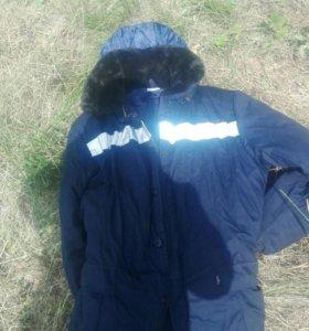 Зимняя куртка для работы