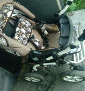 Детская коляска трансформер зима-лето