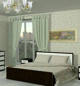 Кровать Экокожа Новая!