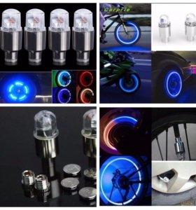 Лампочки на колеса. Новые