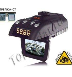 2 в 1 видеорегистратор радар-детектор gr-h8+