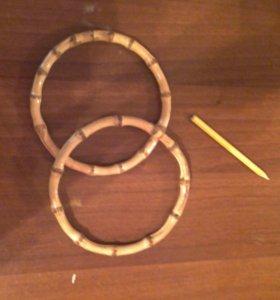Ручки бамбуковые