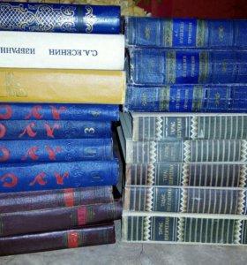 Книги Т.Шевченко, А.Пушкин,С.Есенин и тд