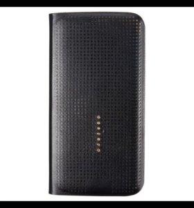 Чехол Smart View Touch черный для Samsung S6 Edge