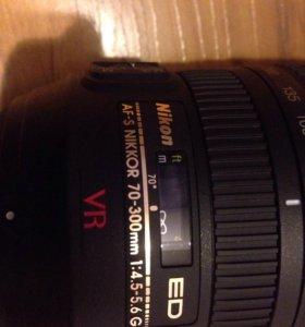 Объектив Nikon AF-S Zoom-Nikkor 70-300mm f/4.5-5.6