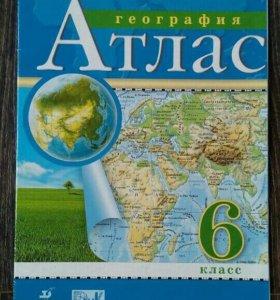 Атласы по географии 6-10 классы