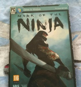 "Компьютерная игра ""Mark of the ninja"""