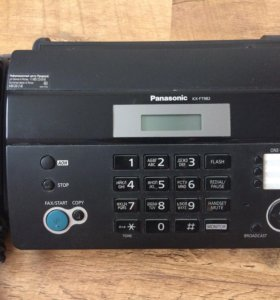 СРОЧНО продам тел.факс Panasonic KX-FT982