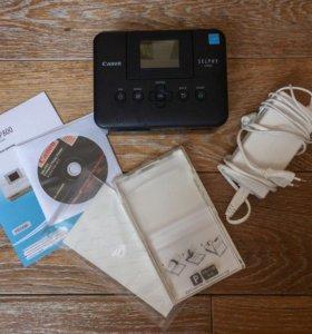 Фотопринтер Canon и листы для печати фото