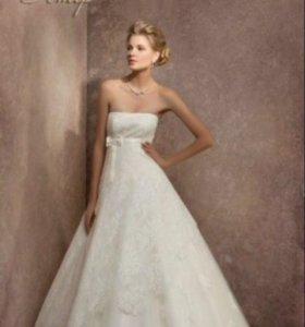 Свадебное платье 42-44р.