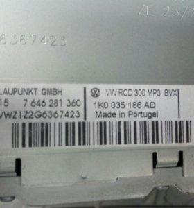 Автомагнитола на VW, RCD 300