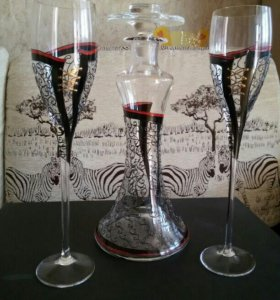 Набор для вина Высокая мода